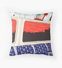 View from London Jubilee Line Throw Pillow