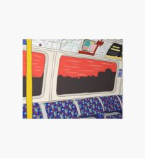 View from London Jubilee Line Art Board