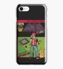Retrorama Game boy Color iPhone Case/Skin
