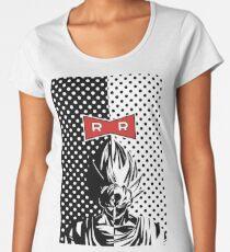 GOKU SUPER SAYIAN BLACK AND WHITE Women's Premium T-Shirt