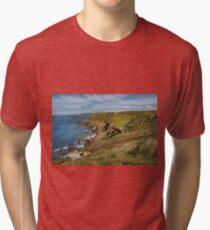 pendn-men-du , lands end Cornwall  Tri-blend T-Shirt