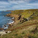 pendn-men-du , lands end Cornwall  by eddiej