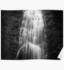 Montezuma waterfall in Costa Rica Poster