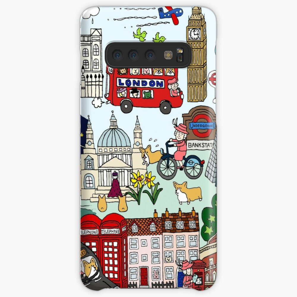 The Queen's London Day Out Case & Skin for Samsung Galaxy