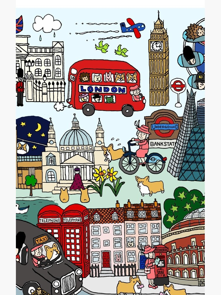 The Queen's London Day Out by m-lapino