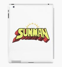 Sunman - NES Title Screen iPad Case/Skin