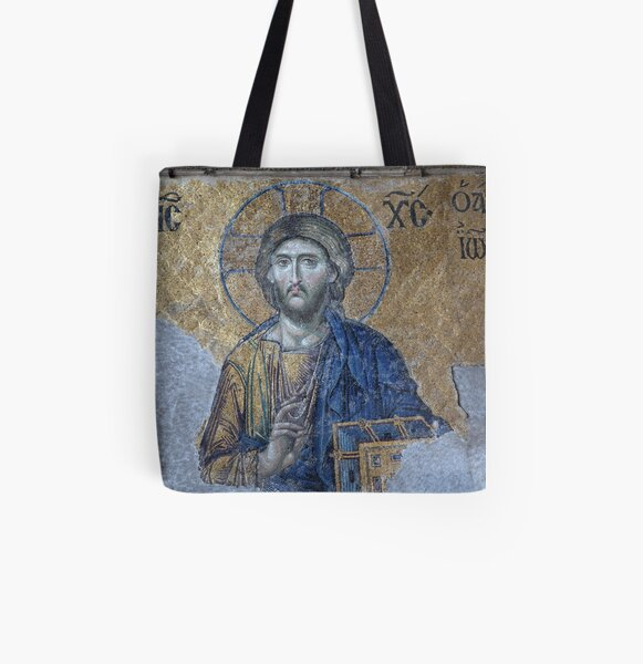 ..Istanbul..indside the Hagia Sophia All Over Print Tote Bag