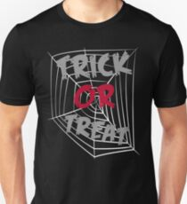 Graphic Design Trick Or Treat Funny Halloween T-Shirt