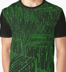 Matrix Simulation World - Inside Digitized Reality Graphic T-Shirt