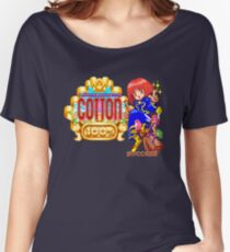 Magical Night Dreams: Cotton - Title Screen Women's Relaxed Fit T-Shirt