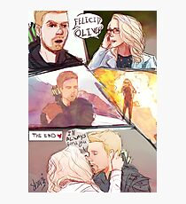 olicity comic Photographic Print