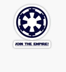 JOIN THE EMPIRE Sticker