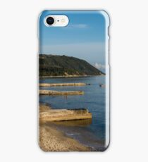 Beautiful coastline with mountains and rocks in Greece iPhone Case/Skin