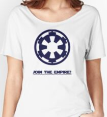 JOIN THE EMPIRE Women's Relaxed Fit T-Shirt