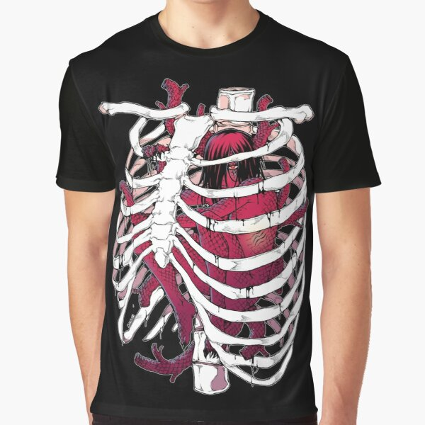 Heart in a cage Graphic T-Shirt