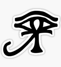 Eye of Ra Ankh. Sticker