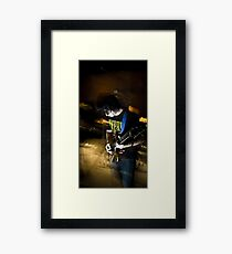 The Chaos We Breathe Framed Print