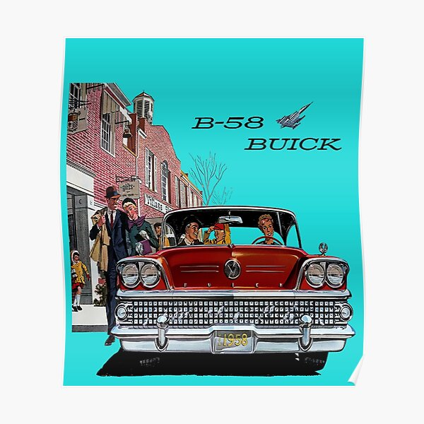 1958 Buick Poster