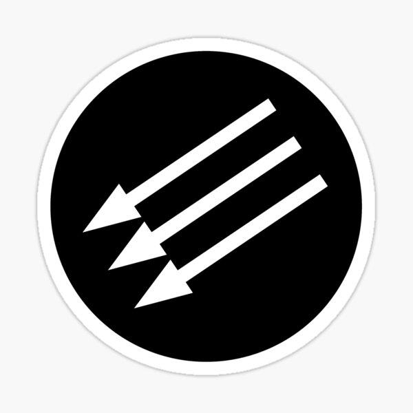 Iron Front - Anti-Fascist Sticker