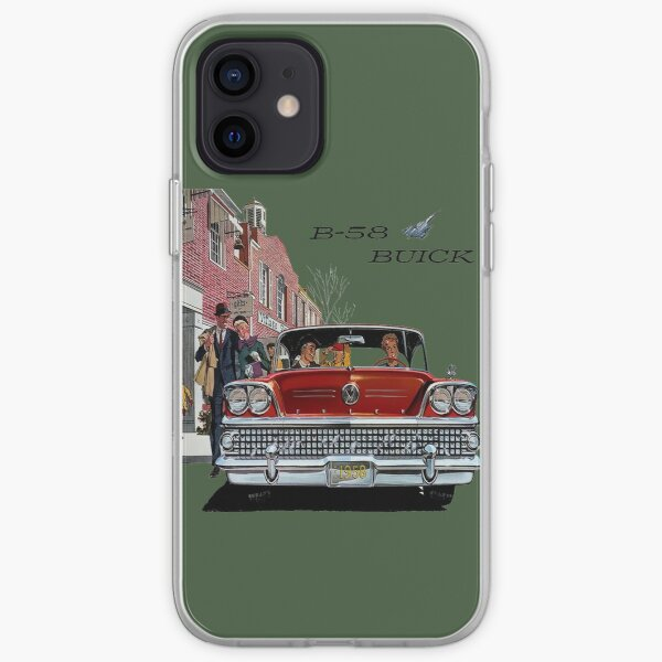 1958 Buick iPhone Soft Case