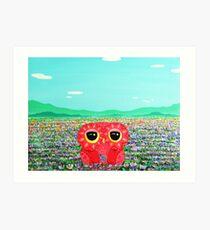 Tulip Love Affair Art Print