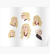Emma Swan Through the Years Poster