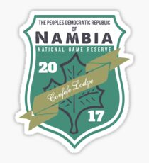 Covfefe lodge - Nambian Game Reserve Sticker
