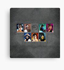 Mortal Kombat Character Select Remaster Canvas Print