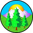 Nature Outdoors Forest Mountains Woods Explore Hiking by MyHandmadeSigns