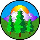 Nature Outdoors Forest Mountains Woods Explore Hiking 2 by MyHandmadeSigns