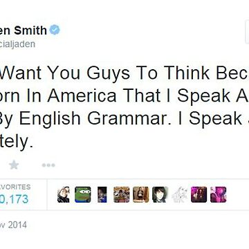 Jaden Smith's Twitter Is Everything by ohfangirlplease