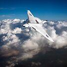 Avro Vulcan B1 strategic bomber by Gary Eason