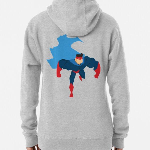 Superhero in Action. Pullover Hoodie