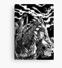 Nazgul rider by FLDillustation  Canvas Print