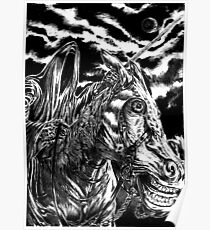 Nazgul rider by FLDillustation  Poster