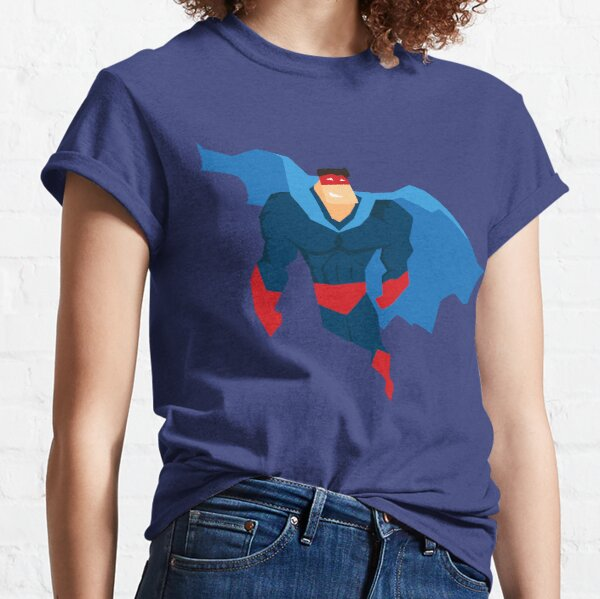 Superhero in Action. Classic T-Shirt