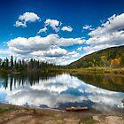 Rainbow Lake - Frisco, CO by Edith Reynolds
