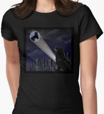 The City is Safe Tonight Women's Fitted T-Shirt