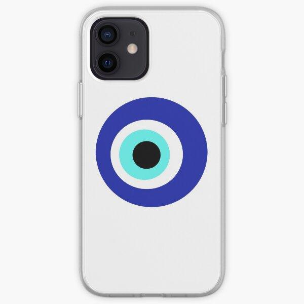Blaues Auge iPhone Flexible Hülle