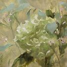 Strengthened• Floral Painting by Rebecca Finch by Rebecca Finch