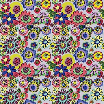Floral Bonkers by wendyhowarth
