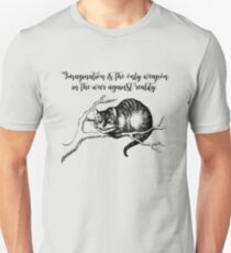Imagination - Lewis Carroll - Alice in Wonderland T-Shirt