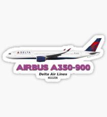 Airbus A350-900 - Delta Air Lines Sticker