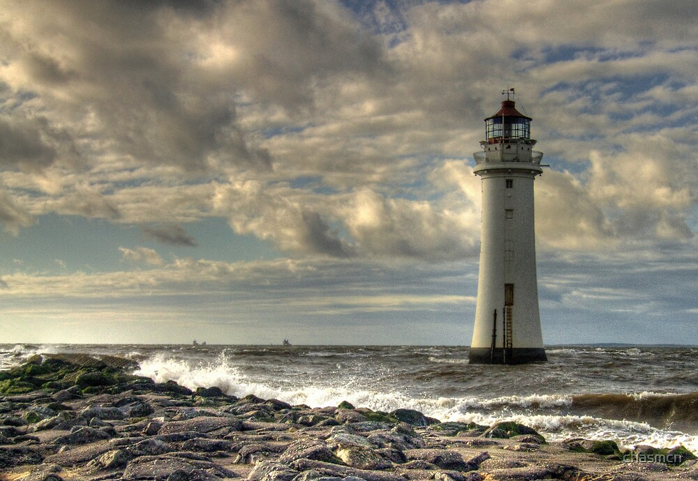 perch rock lighthouse by chasmcn