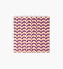 Frills - Purple (F5) Art Board