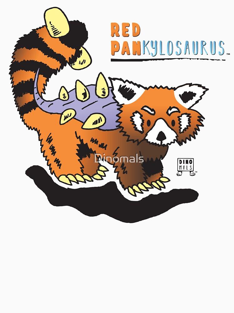 Red Pankylosaurus by Dinomals