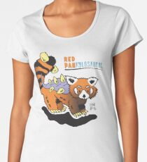Red Pankylosaurus Women's Premium T-Shirt
