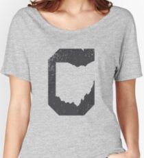 Cleveland Ohio Negative Women's Relaxed Fit T-Shirt