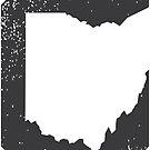 Cleveland Ohio Negative by Patrick Brickman