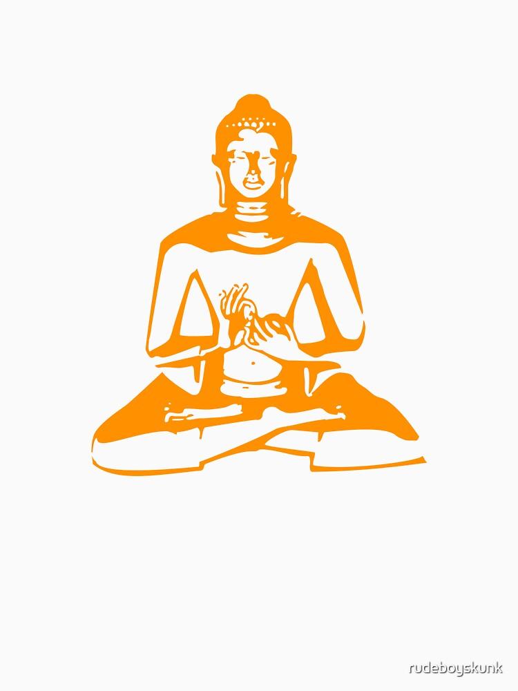 Buddha (Orange Print) by rudeboyskunk